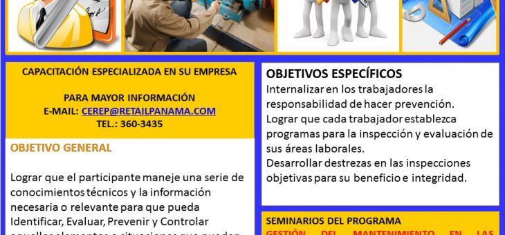 PROGRAMA INTEGRAL SEGURIDAD, MANTENIMIENTO, ORDEN Y LIMPIEZA EN LAS EMPRESAS