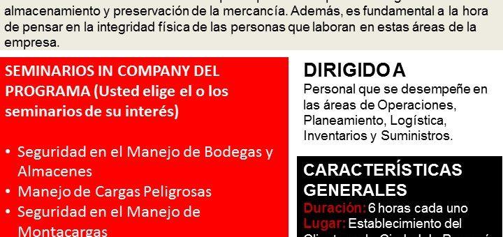 PROGRAMA INTEGRAL SEGURIDAD INTERNA Y EXTERNA EN ALMACENES Y CEDIS.