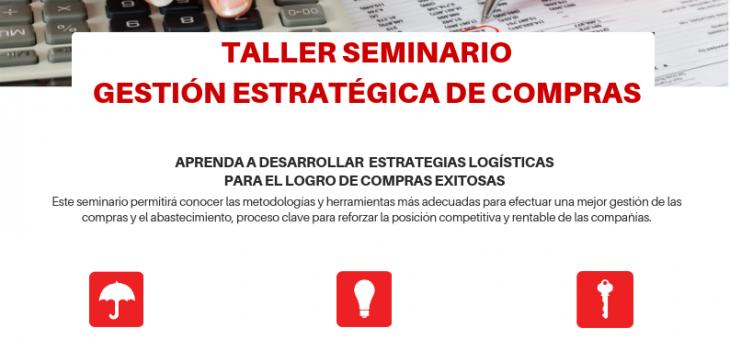 OFERTA DE SEMINARIOS JULIO – AGOSTO 2019