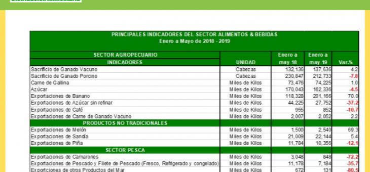 INFOGRAFÍA #3 PRINCIPALES INDICADORES DEL SECTOR ALIMENTOS & BEBIDAS