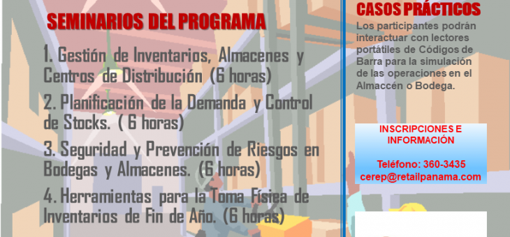 GESTIÓN DE INVENTARIOS / InCompany Training 2021
