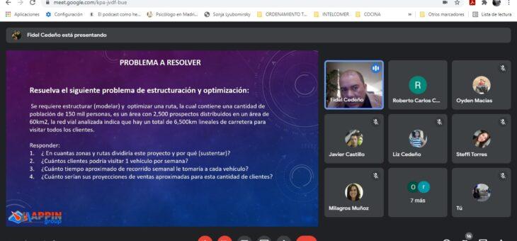 REPORTAJE DE SEMINARIO TALLER BRINDADO A TROPIGAS, S. A. SOBRE DISEÑO DE RUTAS DE DISTRIBUCIÓN